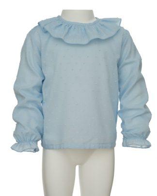 kids_camisa plumeti azul