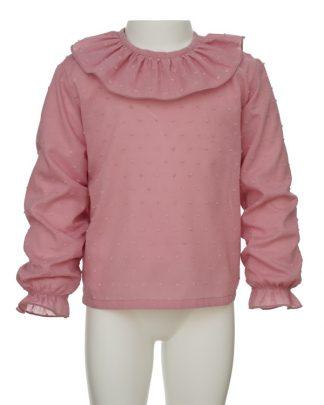 kids_camisa plumeti rosa