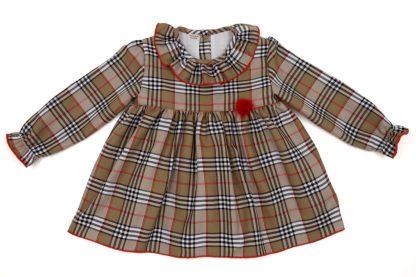 Vista frontal blusa tartan Charlotte