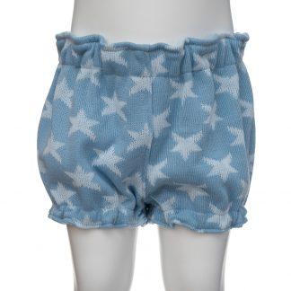 Bombacho estrellas lana azul kids en maniquí 3 años