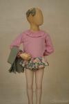 Exposición culotte Garden - maniquí 4 años