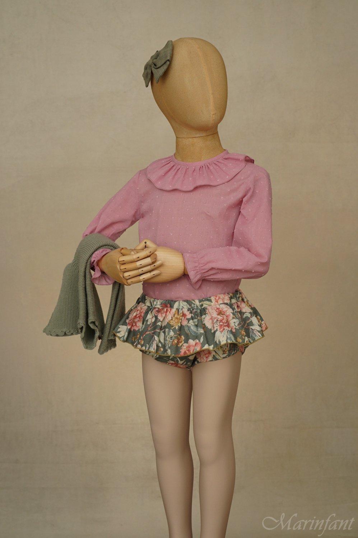 Exposición culotte Garden pose 2 - maniquí 4 años