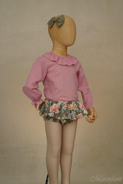 Exposición culotte Garden pose 3 - maniquí 4 años
