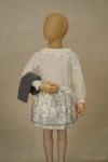 Exposición culotte falda Toile - maniquí 4 años