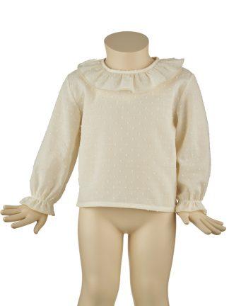 baby plumeti camisa marfil