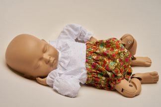 Culotte recién nacido Liberty Amapola