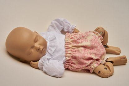 Culotte recien nacido toile de jouy