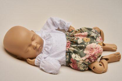 Culotte recien nacido garden