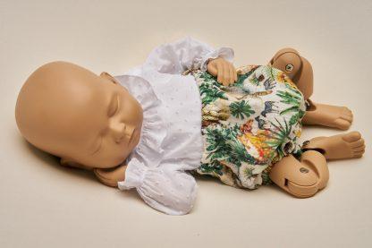 Culotte recién nacido gasa selva