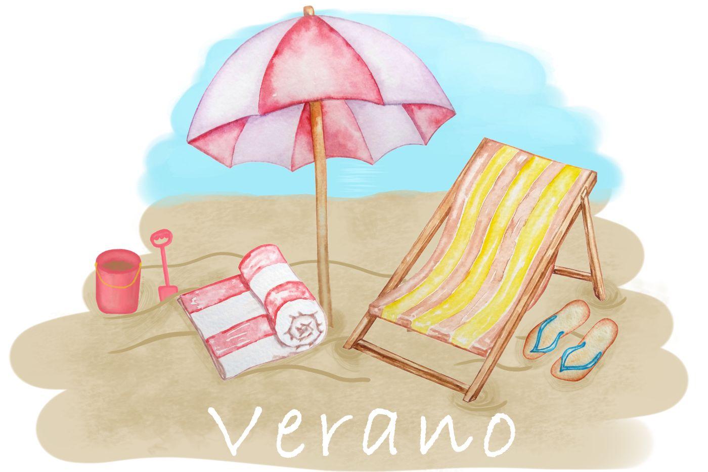 Dibujo verano